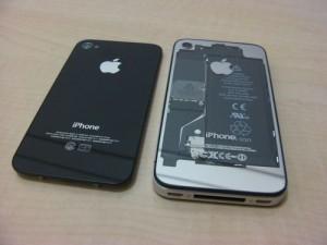 iPhoneスケルトンバックパネル