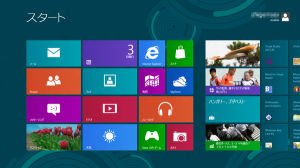 Windows 8 Release Previewをインストールしてみた