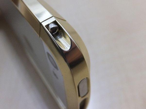 CLEAVE ALUMINUM BUMPER for iPhone 5 Full polish model
