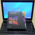 Windows VistaにWindows 8 Pro アップグレード版を入れてみた