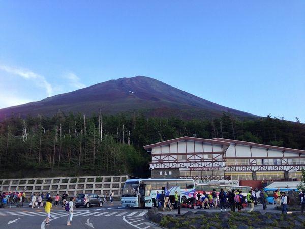 富士登山(富士吉田口→山頂→須走口)