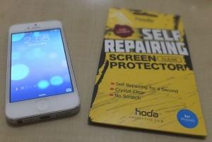 自己修復加工 iPhone5用 液晶保護フィルムを買ってみた