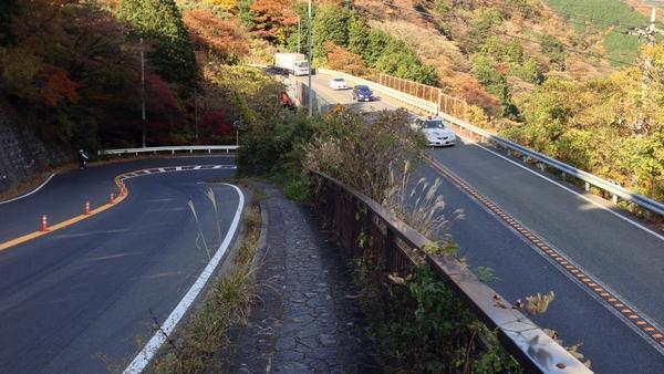 箱根新道と旧東海道