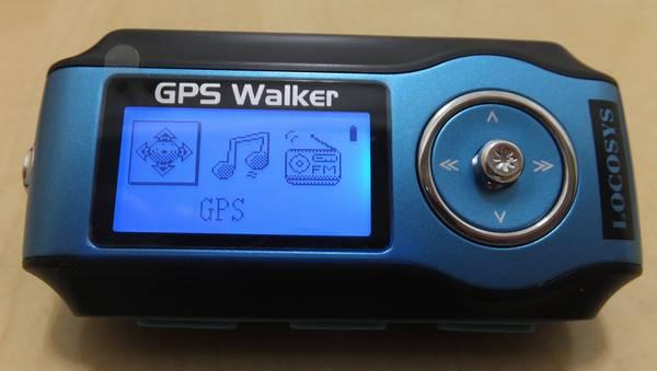 GPS Walker電源ON
