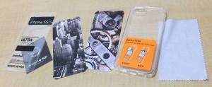 iPhone 5s/5用 SPIGEN SGPウルトラ・ハイブリッド