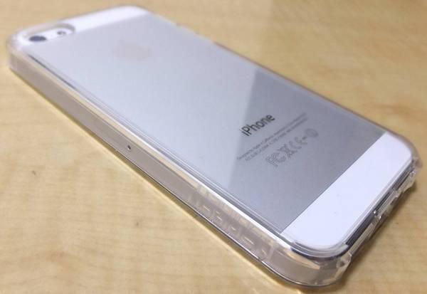 iPhone 5s/5用 SPIGEN SGPウルトラ・ハイブリッド(クリスタル・クリア)