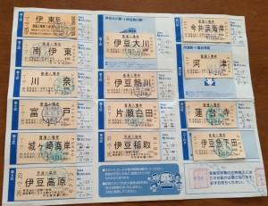 各駅の入場券