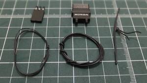 バッテリーケーブル、CDIユニット、エレクトリックシステムパーツA、ワイヤーB、ワイヤーD