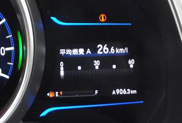 平均燃費 26.6km/L