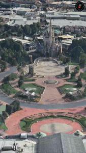 ディズニーランドのシンデレラ城