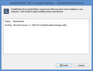InstallShield2013LimitedEdition