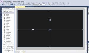 TextBlockコントロールを画面にドラッグ&ドロップ