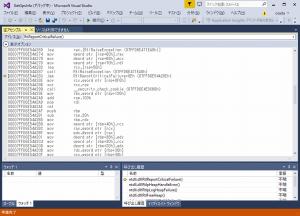 Visual Studioからデバッグ
