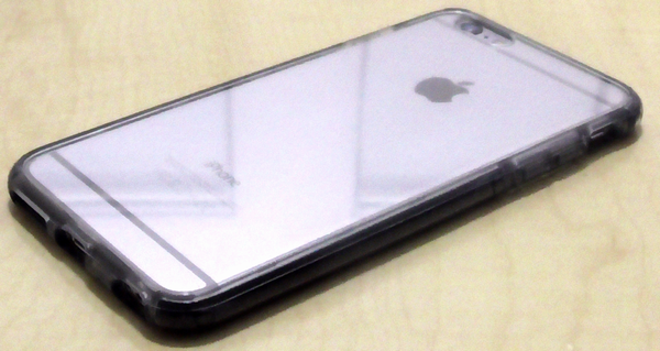 [Spigen] UltraHybridTECH iPhone 6s/6 Plus Crystal Gunmetal