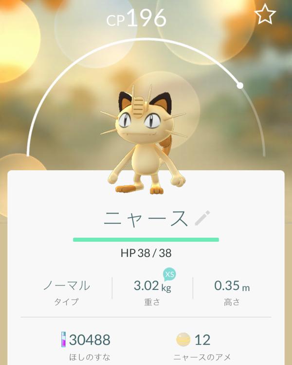 ポケモンGOニャース