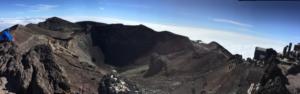 剣が峰からのパノラマ