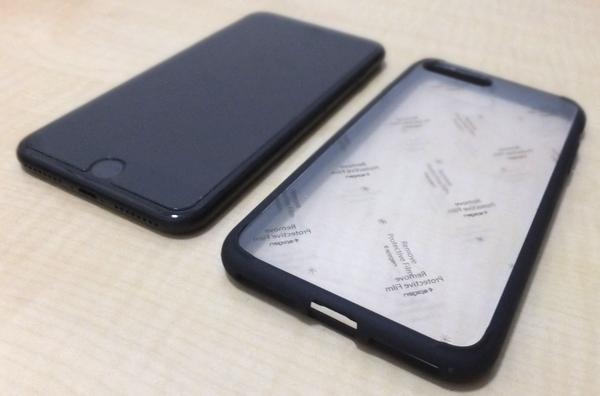 iPhone7 Plus ケース ウルトラ・ハイブリッド ブラック