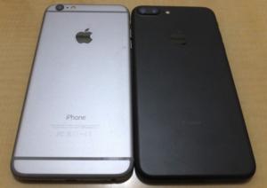 iPhone6 PlusとiPhone7 Plus