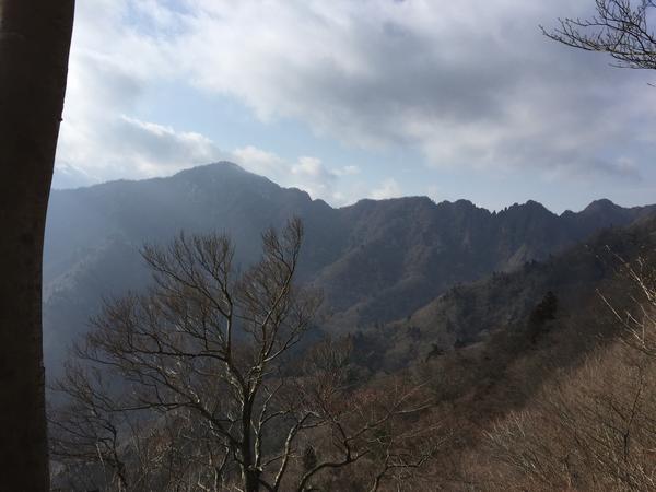 黒岳から越前岳へ