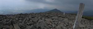 編笠山からの景色