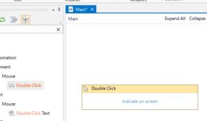 「Double Click」のアクティビティ
