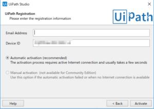 UiPath Registration